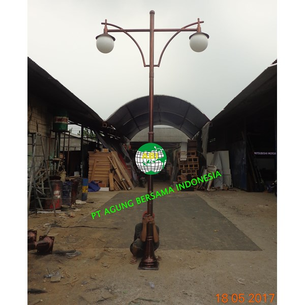 Tiang Lampu Taman - 3 - 4 - Meter