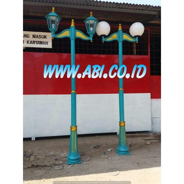 Pabrikasi Tiang Lampu Taman