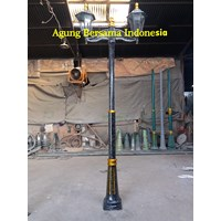 Tiang Lampu Antik Ready Stock