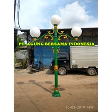 Pabrik Tiang Lampu PJU Bulat ABI
