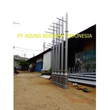 Tiang Lampu Taman Cisadane Tangerang