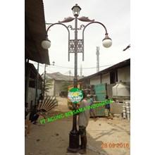 TIANG LAMPU ANTIK 3-4 meter