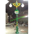 Antique Lamppost 2 Lights 2