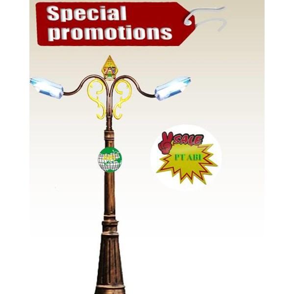 TIANG LAMPU TAMAN MURAH