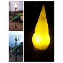 TIANG LAMPU TAMAN ANTIK 3 Meter