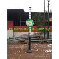 TIANG LAMPU TAMAN MINIMALIS ABI INDONESIA