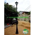 TIANG LAMPU TAMAN MINIMALIS 3 Meter 1