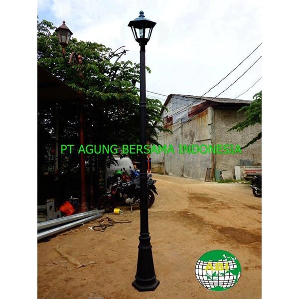 TIANG LAMPU TAMAN MINIMALIS 3 Meter