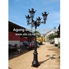 Flower Garden Light Poles 1