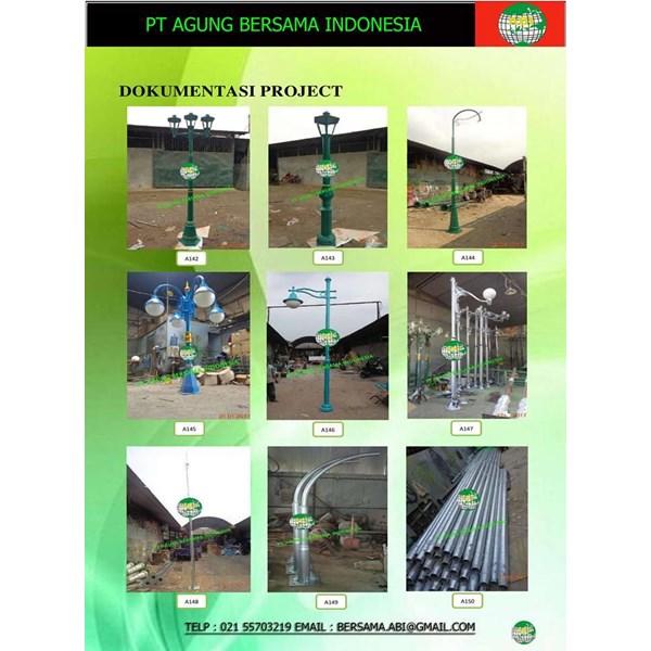 Flower Garden Light Poles