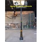 TIANG LAMPU TAMAN ANTIK  3 Meter 2 Lampu 1