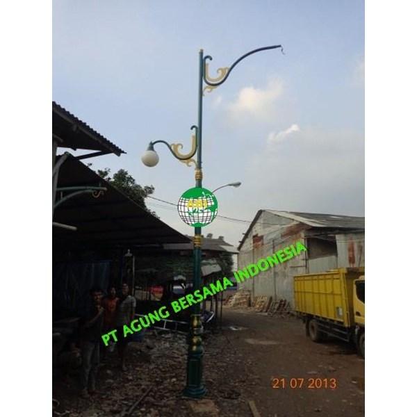 TIANG LAMPU PJU ANTIK - JUAL TIANG LAMPU PJU ANTIK