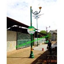Tiang Lampu Dekoratif Single Ornament
