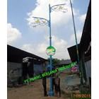 TIANG LAMPU TAMAN DEKORATIF ABI 2