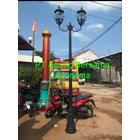 Model Tiang Lampu Taman Depan Rumah 1