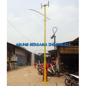 Lampu Jalan PJU Bambu
