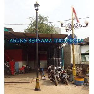 Tiang Lampu Taman Tunggal Banten