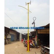 Lampu Jalan PJU Bambu Kuning Padang