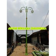Tiang Lampu Taman Cabang 2 Padang