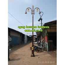 Tiang Lampu Antik Dekoratif ABI 2