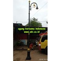 Tiang PJU Single ABI Indonesia