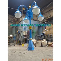 2 Meter Antique Light Pole