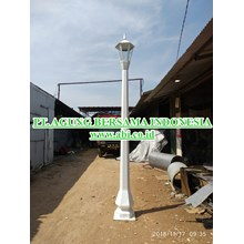 Tiang Lampu Taman Tunggal Indonesia