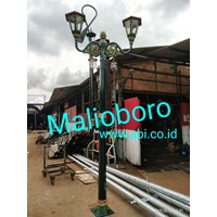 Tiang Lampu Taman Type Malioboro