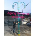 Warna Model Tiang Lampu Antik  1