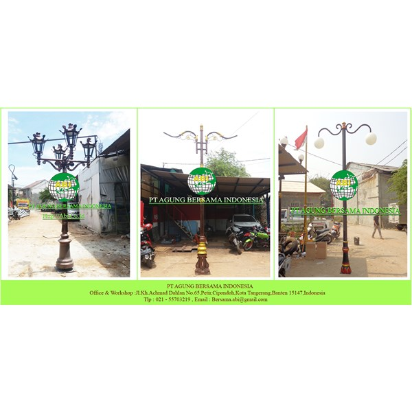 Sell ​​Antique Garden Light Poles