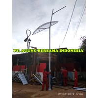 7 meter PJU light pole