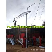 Tiang Lampu PJU 7 meter