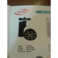 LAMPU LED FATRO TRACK HITAM
