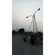 PJU Double Ornament Octagonal pole