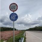 Rambu Jalan / Rambu Lalu Lintas Batas Kecepatan 3
