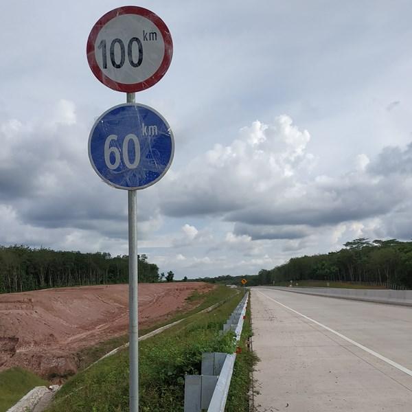Rambu Jalan / Rambu Lalu Lintas Batas Kecepatan