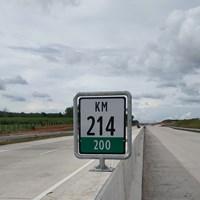 Rambu Jalan Petunjuk Kilometer