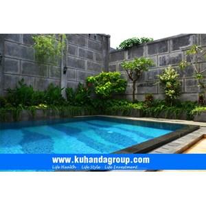 Pembuatan Kolam Renang Graha Taman I Bapak dr. Andri Kurniawan By Kuhanda Semesta Group