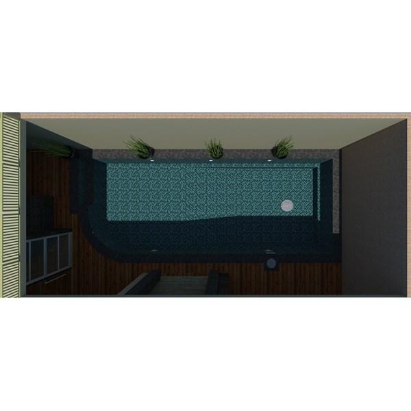 Foto Dari Desain 2D Dan 3D Kolam Renang 26