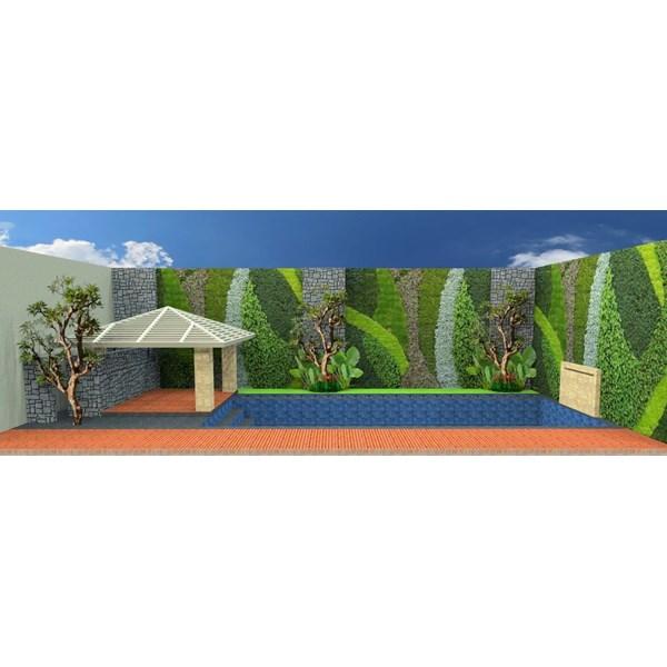 Foto Dari Desain 2D Dan 3D Kolam Renang 2
