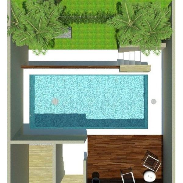 Foto Dari Desain 2D Dan 3D Kolam Renang 11