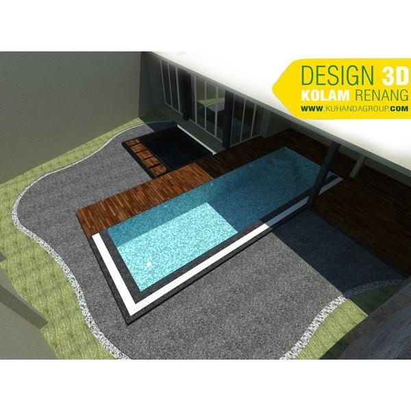 Foto Dari Desain 2D Dan 3D Kolam Renang 8