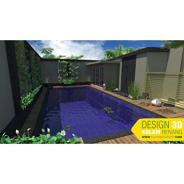 Foto Dari Desain 2D Dan 3D Kolam Renang 7