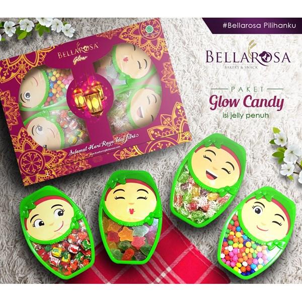 Bellarosa Paket Glow Candy isi jelly penuh