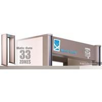 Walkthrough Metal Detector Garde A Pin Point Scan dengan 33 zone Deteksi