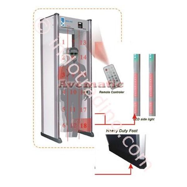 Detektor Logam Metal Detector Walthrough Delova II Multi Zones Pintu Metal Detektor