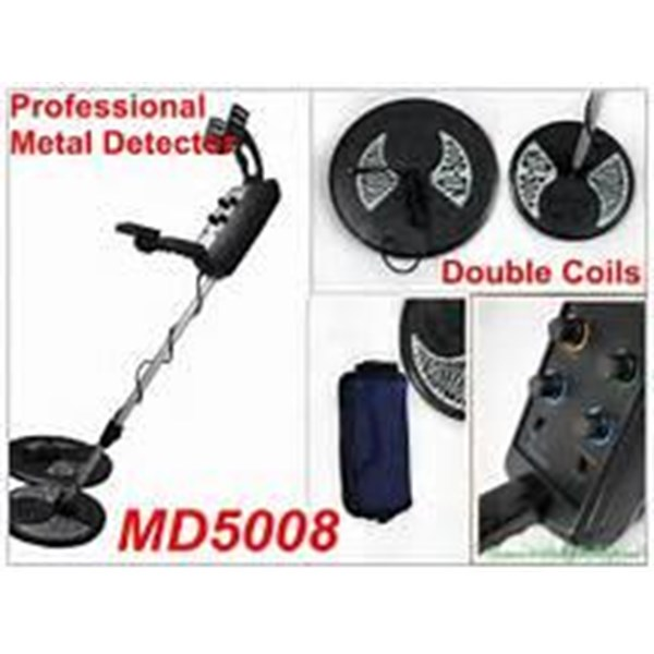 Pendeteksi Metal (Emas) Dll Dalam Tanah Dgn Coil Kecil Dan Besar Md 5008 Original