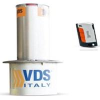 Keamanan Jalan Kendaraan Rising Bollard Made in Italy