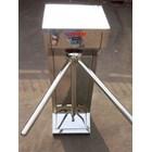 Tripod Turntile Stainless Steel Manual Lokal 2