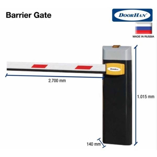 Palang Parkir Barrier Gate Eropa 3-4 Mtr Dengan Harga Kompetitif